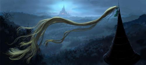 Rapunzel's LONG hair