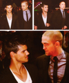 Rob & Tay - taylor-lautner-vs-robert-pattinson photo