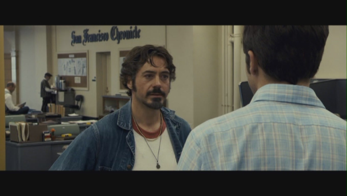 Zodiac Movie Robert Downey Jr Robert Downey Jr  as Paul