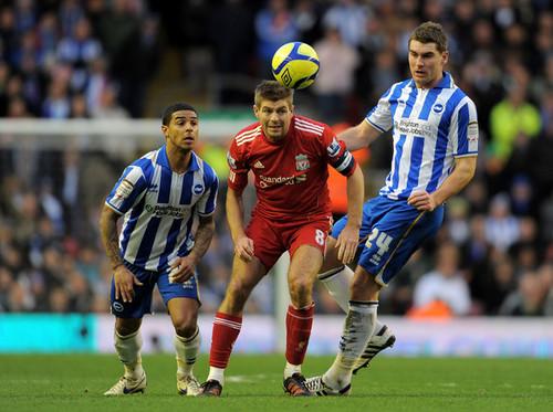 S. Gerrard (Liverpool - Brighton Hove Albion)