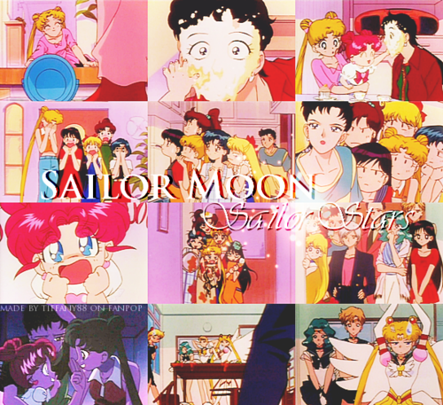 Sailor Moon Sailor Stars wolpeyper containing anime called Sailor Stars ~ ♥