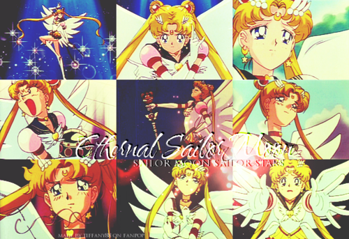 Sailor Moon Sailor Stars wallpaper containing Anime titled Sailor Stars ~ ♥