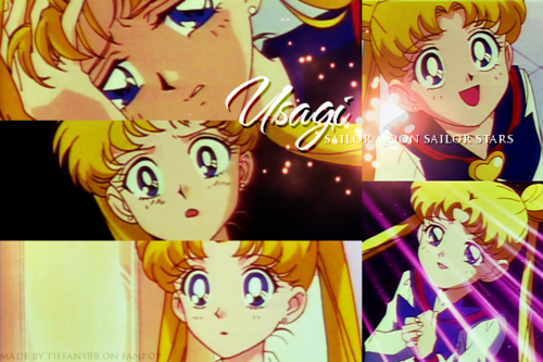 Sailor Moon Sailor Stars wolpeyper possibly containing anime entitled Sailor Stars ~ ♥