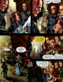 Sandor and Sansa- In the GoT graphic novel