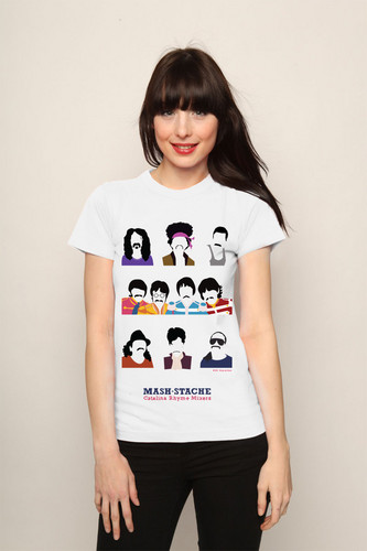 Santana moustache t-shirt