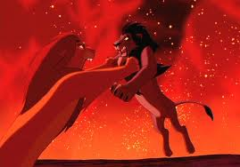The Lion King wallpaper probably with anime titled Scar and Simba