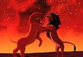Scar and Simba - the-lion-king screencap