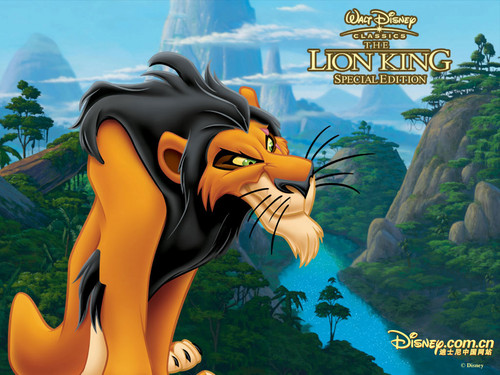 les méchants de Disney fond d'écran containing animé titled Scar