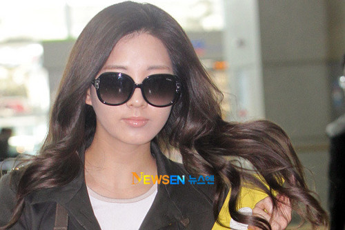 Seohyun @ Incheon Airport to UK News Pictorial