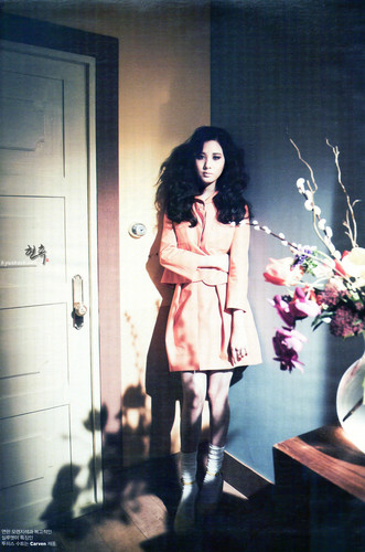 S♥NEISM wallpaper possibly with a bouquet entitled Seohyun @ W Korea Magazine March Issue