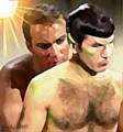Shining Lust - spirk fan art