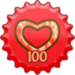Showing Love 100 Cap - fanpop icon