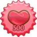 Showing Love 500 Cap - fanpop-caps icon