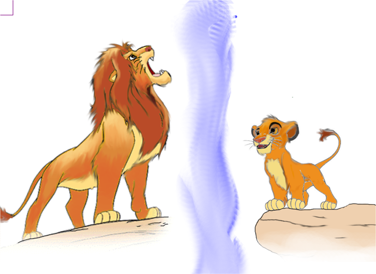 ¿Por qué crees que Simba es un cachorro en el interior? Simba-the-lion-king-29268277-1230-899