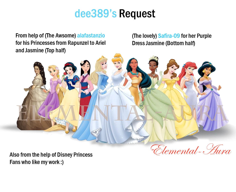 Sissi and the Disney Princesses