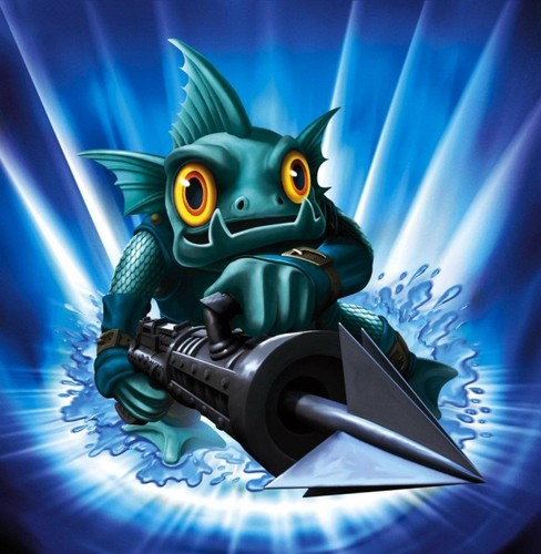 Spyro The Dragon kertas dinding probably containing a hoover and a vacuum entitled Skylanders: Gill Grunt