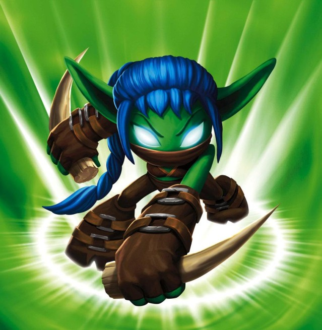 Skylanders: Stealth Elf