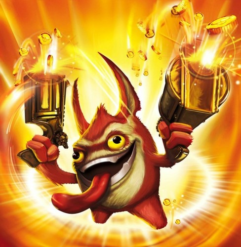 Spyro The Dragon پیپر وال entitled Skylanders: Trigger Happy