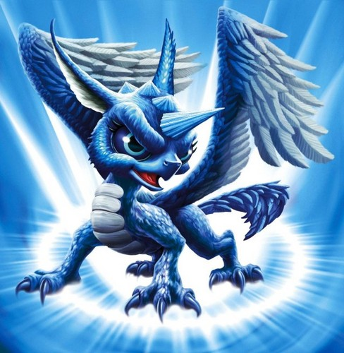 Spyro The Dragon پیپر وال probably with a triceratops entitled Skylanders: Whirlwind