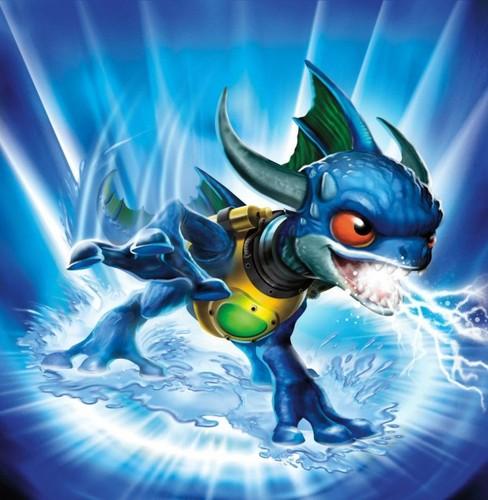 Spyro The Dragon kertas dinding titled Skylanders: Zap