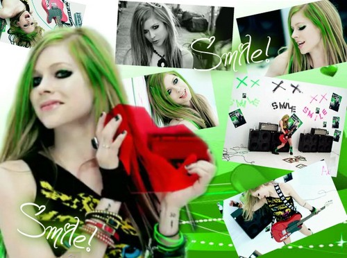 Smile - avril-lavigne Fan Art
