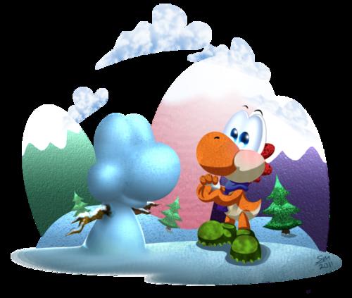 Snow Yoshi