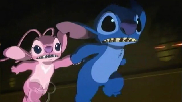 Stitch and ángel