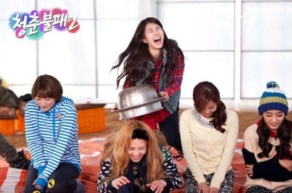 Sunny Hyoyeon @ KBS Invincible Youth S2