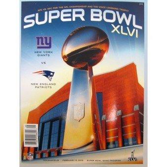 Super Bowl XLVI Official Program