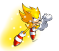 Super Sonic - sonic-the-hedgehog fan art