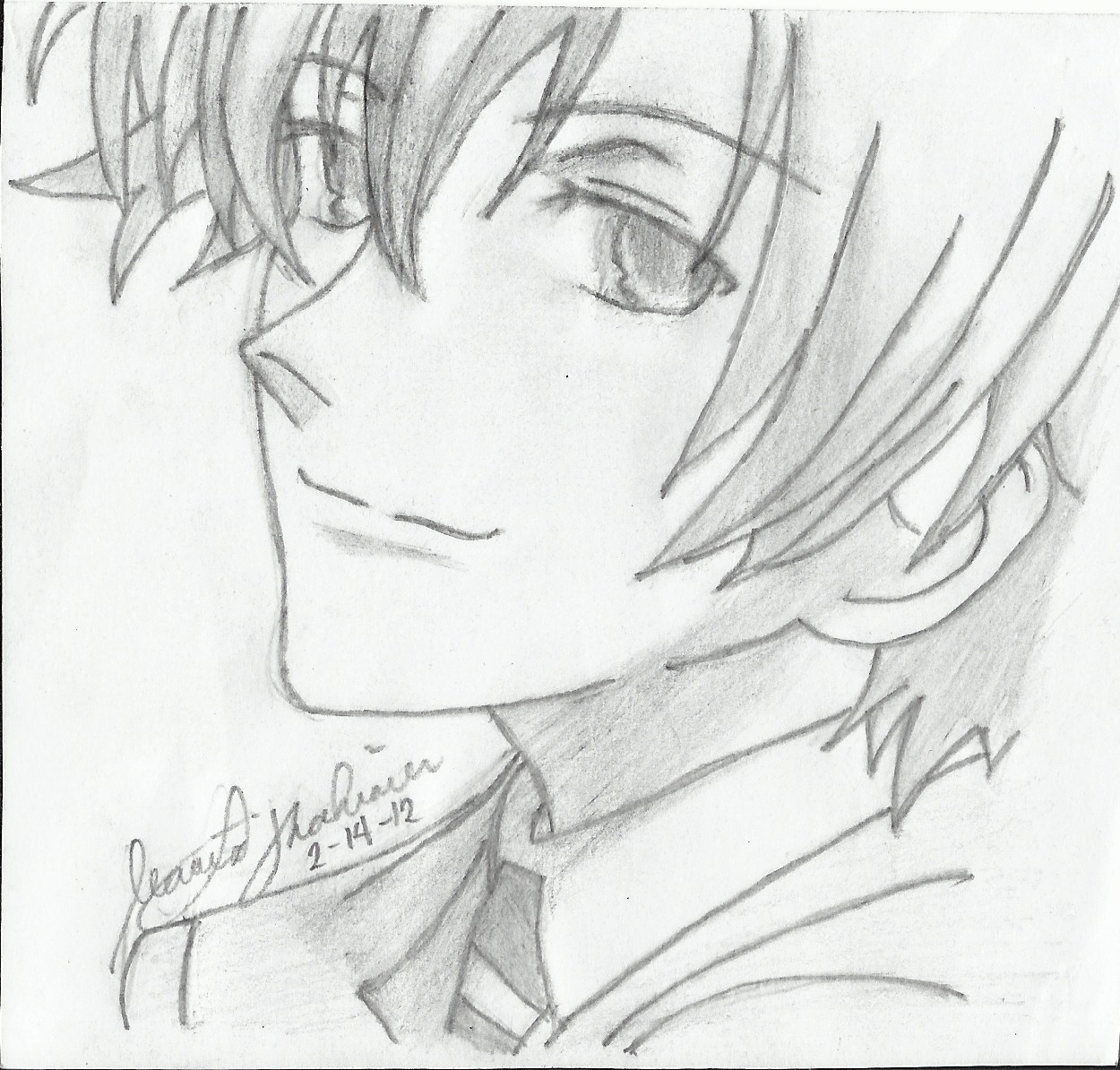 Tamaki Suoh Coloring Pages