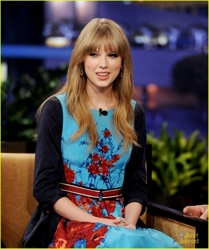 Taylor Swift: gaio, jay Leno Lady