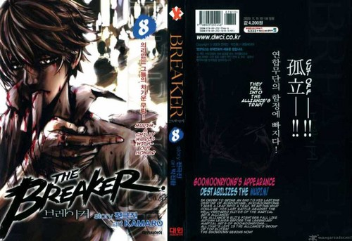 The Breaker Volume 8 Cover