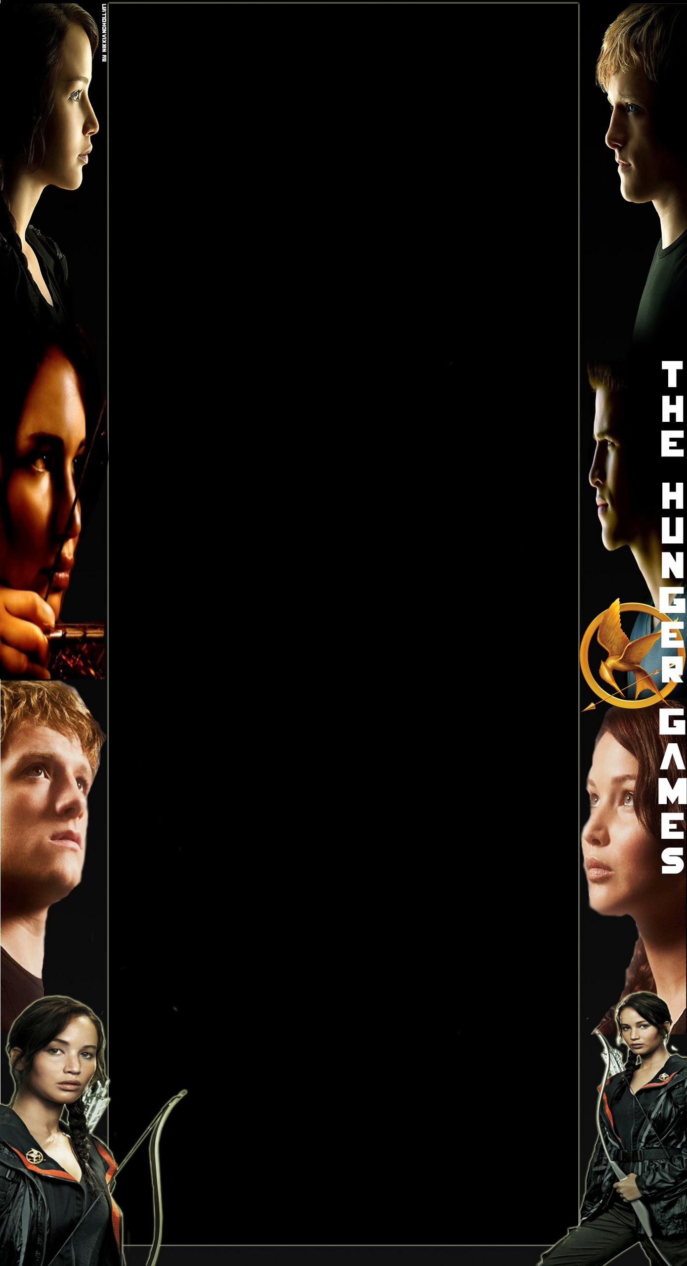 The Hunger Games YouTube BG [New Design]