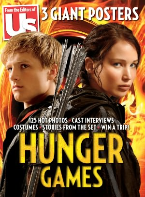 The cover for US Weeky's Hunger Games special edition