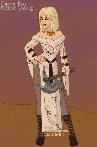 Tiffany rayon, ray as Viking
