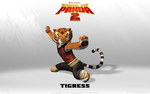 tijgerin, die tigerin achtergrond
