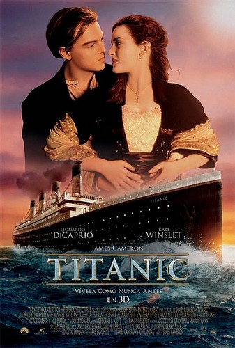 Титаник 3D Italian Poster