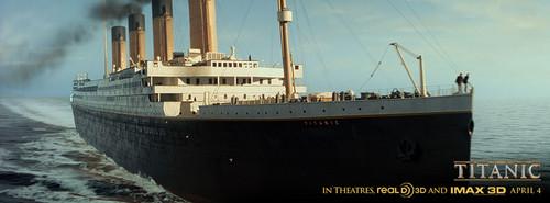Titanic 3D Movie Facebook covers