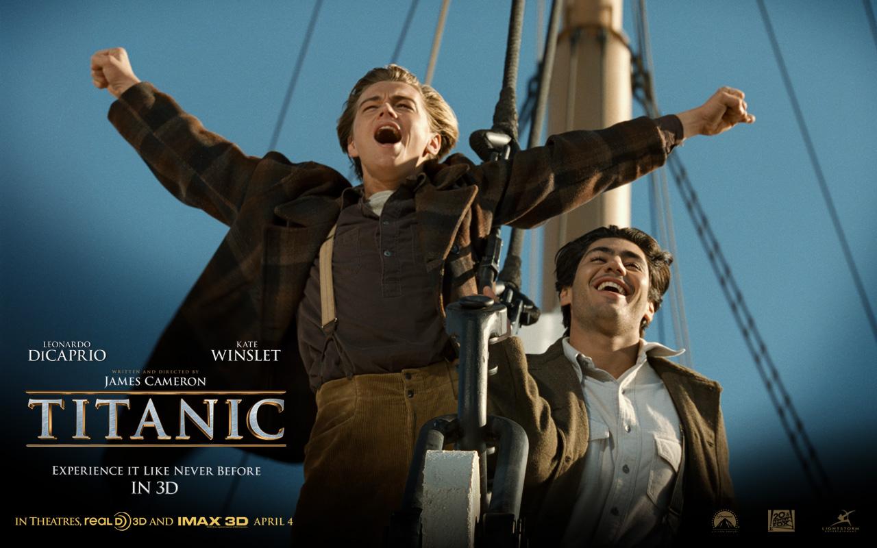 titanic 3D Movie Walpapers