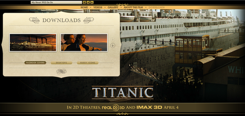 Titanic wallpaper called Titanic Official Website Captures