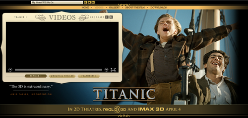 Titanic wallpaper titled Titanic Official Website Captures
