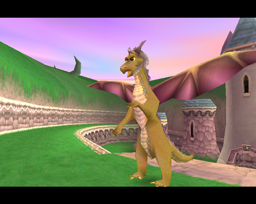 Spyro The Dragon kertas dinding called Tomas