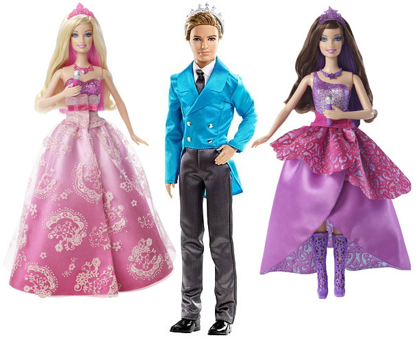 Tori, Liam and Keira - barbie-movies photo
