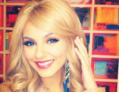 Victoria Justice wallpaper possibly with a bookshop and a portrait entitled Victoria goes blonde! ;)