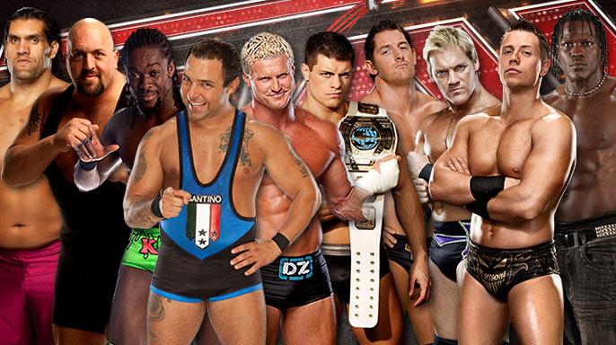WWE Raw Battle Royal