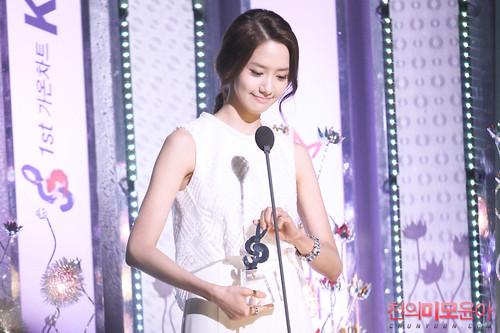 Yoona @ 1st Gaon Chart Kpop Award