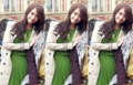 Yoona @ Burberry Prorsum 2012 FW  - im-yoona screencap