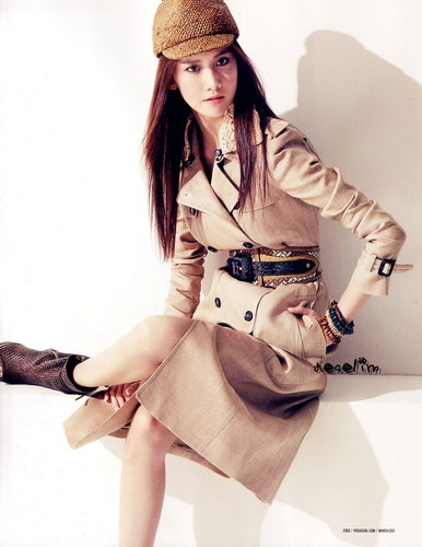 Yoona @ VOGUE girl March 2012