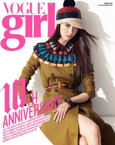 Yoona @ Vogue Girl Magazine March Issue